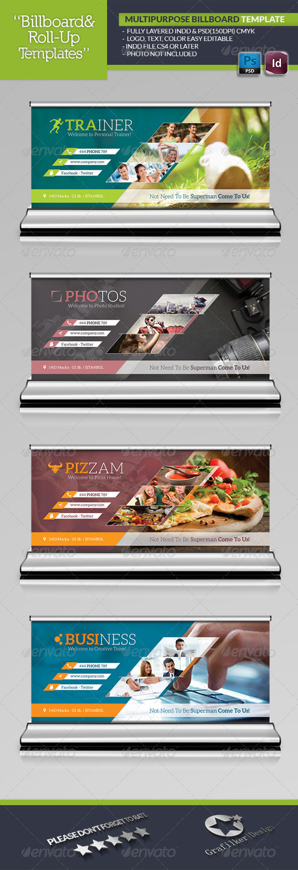 GraphicRiver Multipurpose Billboard Template 5902595