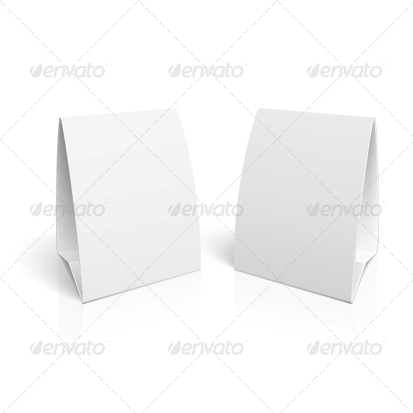 GraphicRiver Blank Paper Table Cards 5953811