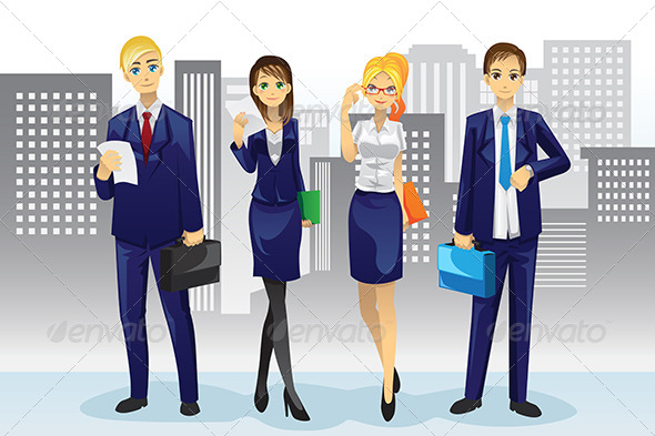 GraphicRiver Business People 5953890