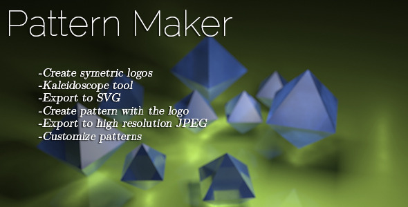 CodeCanyon Pattern Maker 5954042
