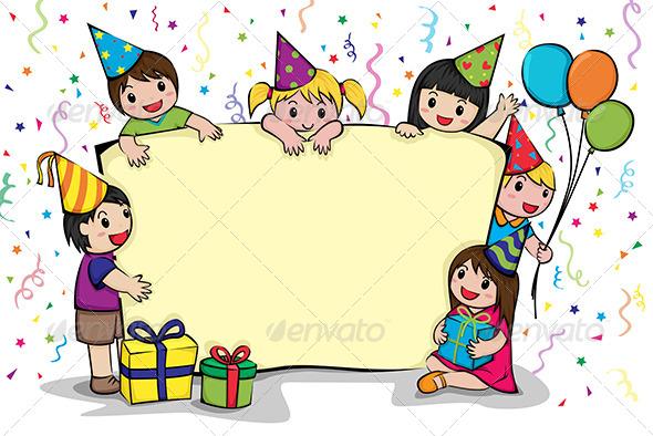 GraphicRiver Birthday Party Invitation 5954257