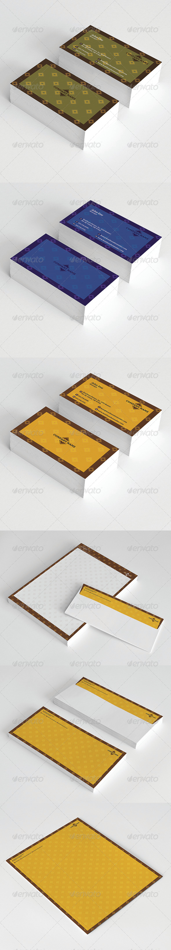 GraphicRiver Stationery 5922939