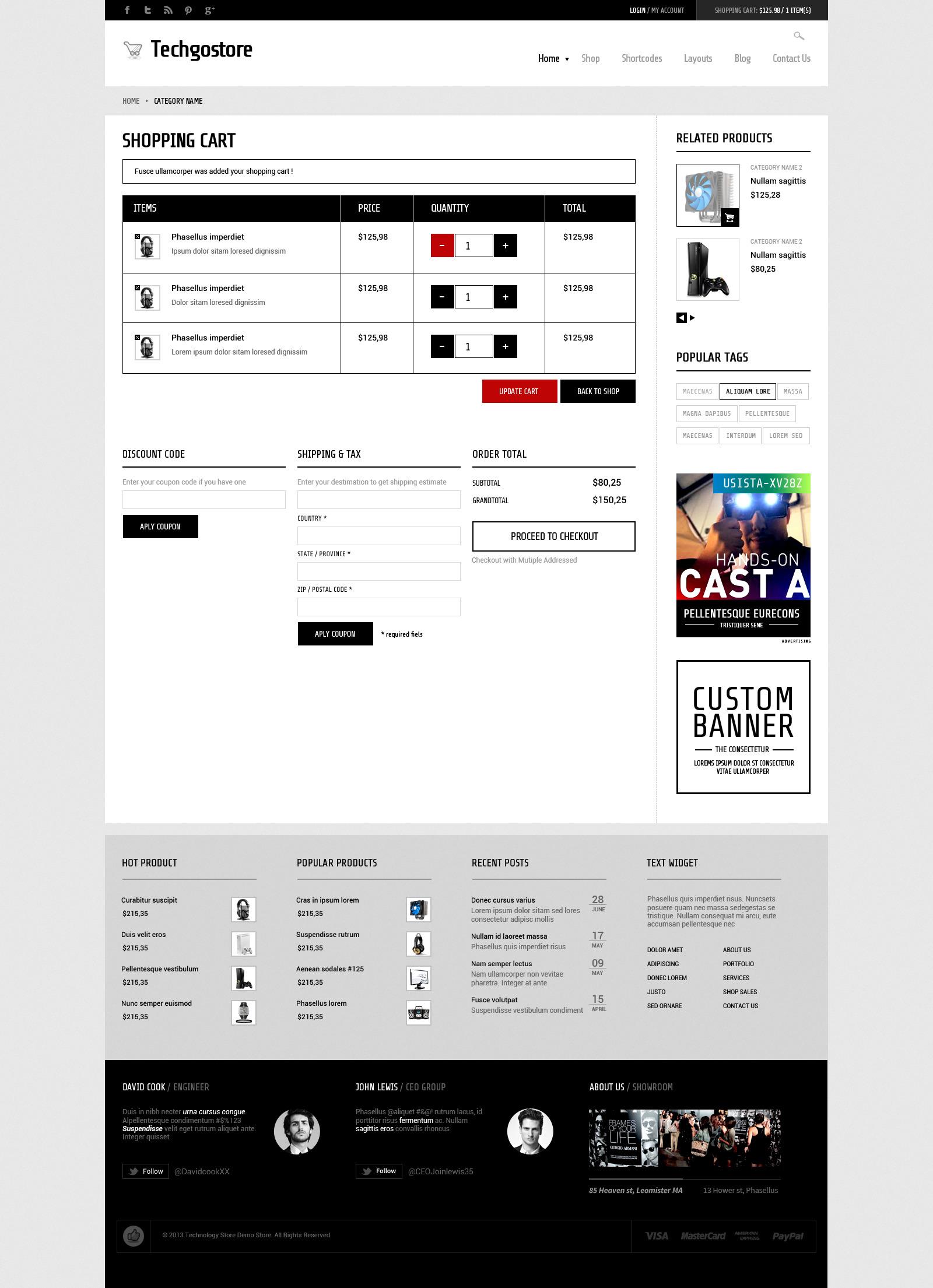 WooCommerce WordPress Theme - TechGoStore