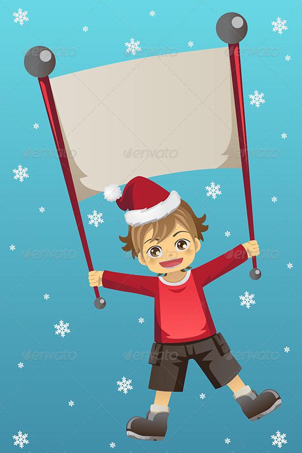 GraphicRiver Christmas Kid 5954406