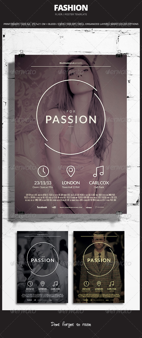 GraphicRiver Fashion Flyer Poster 3 5954824
