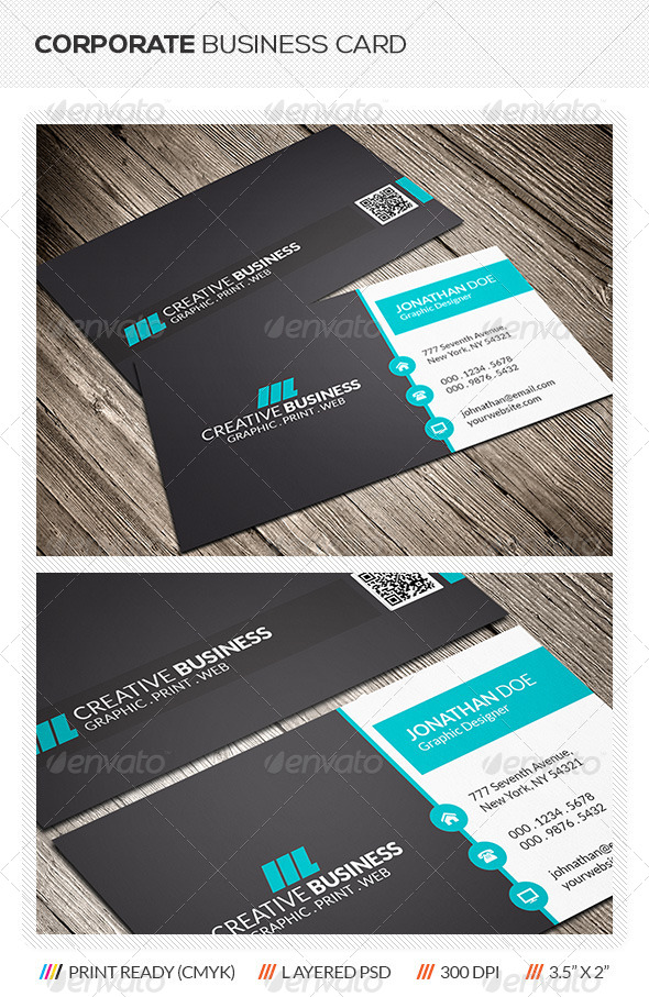 GraphicRiver Creative Corporate Business Card 5954863