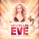 Glamorous New Years Eve Flyer - GraphicRiver Item for Sale