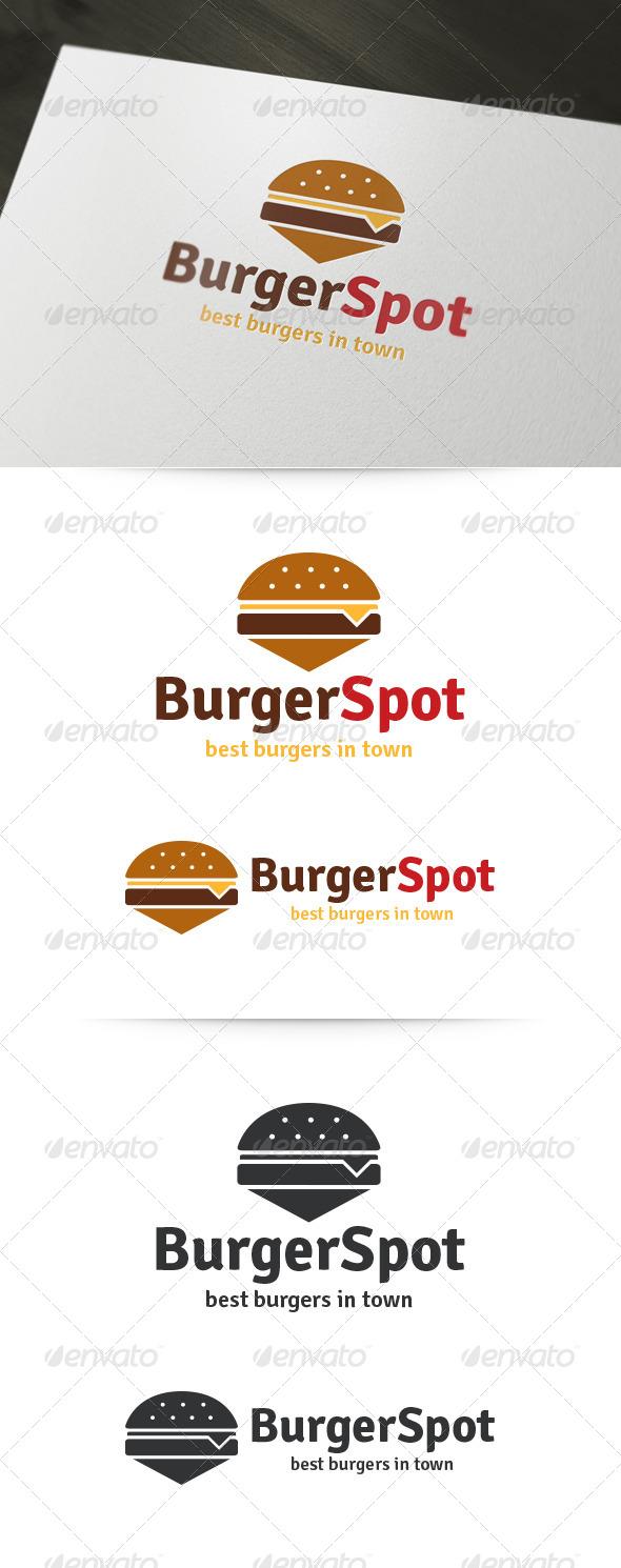 GraphicRiver Burger Spot Logo 5955163