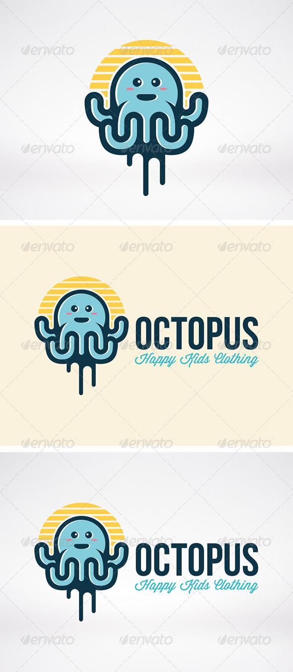 GraphicRiver Octopus Logo 5955267