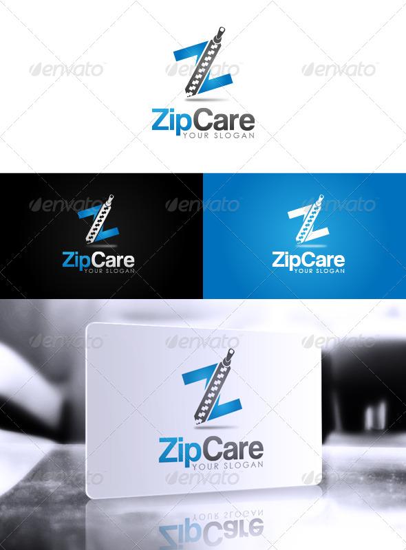GraphicRiver Zip Care Logo 5945733