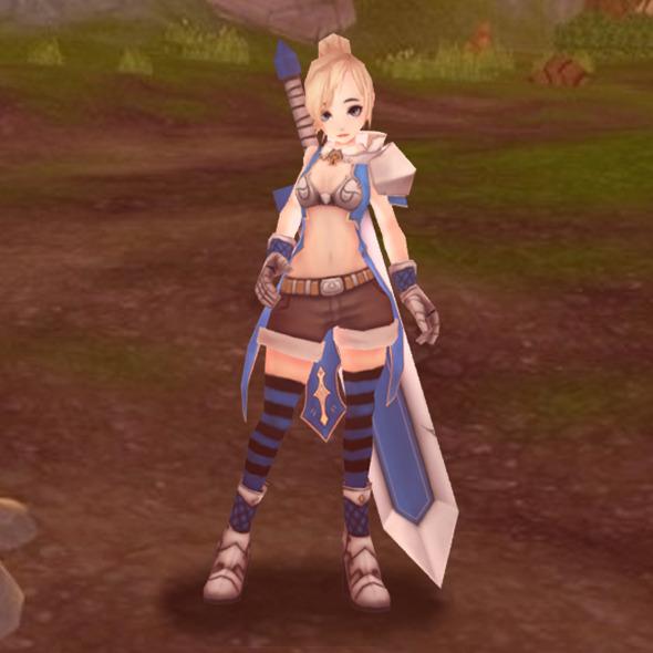 3DOcean Blade Girl 5955923