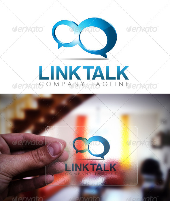 GraphicRiver Link Talk Logo 5956084