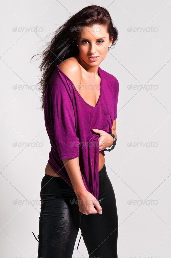 Purple and black - Stock Photo - Images