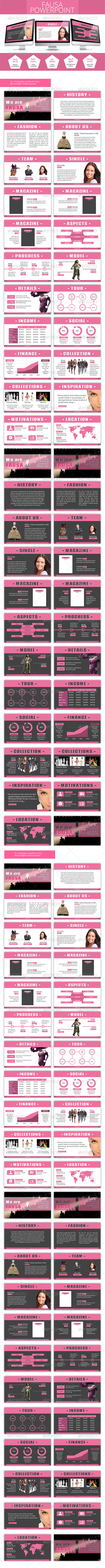 GraphicRiver Fausa Powerpoint Presentation 5956613