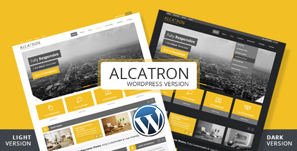 Alcatron - Multipurpose Responsive WP Theme - Corporate WordPress