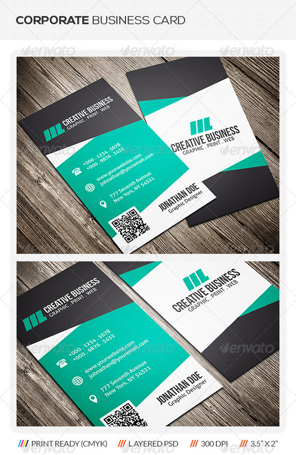 GraphicRiver Creative Corporate Business Card 5956938