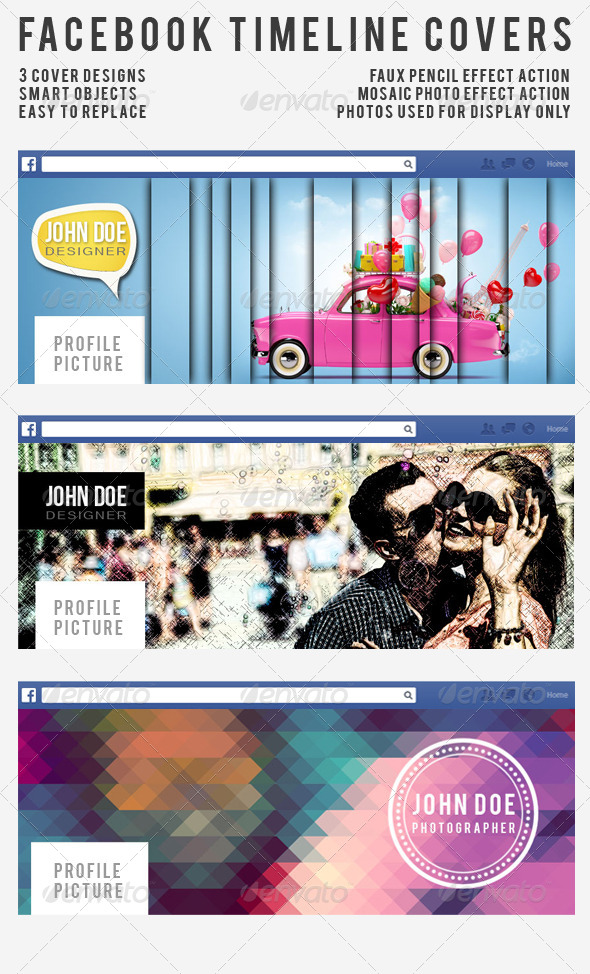 GraphicRiver Special Effects FB Cover Set 5957000