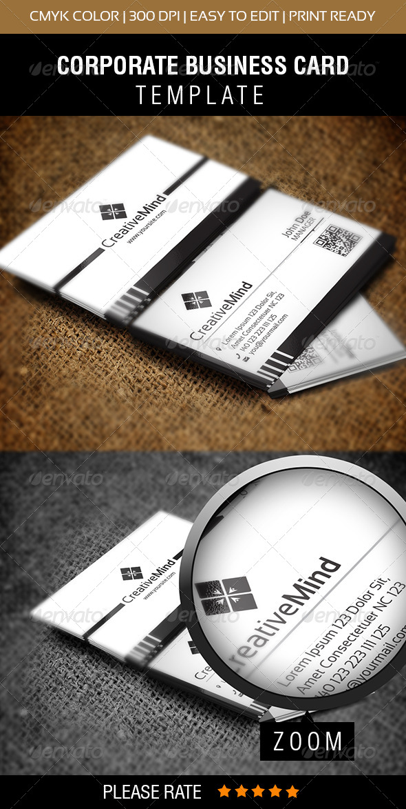 GraphicRiver Creative Mind Business Card 5957242