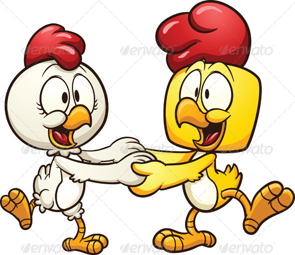 GraphicRiver Dancing Chickens 5957678