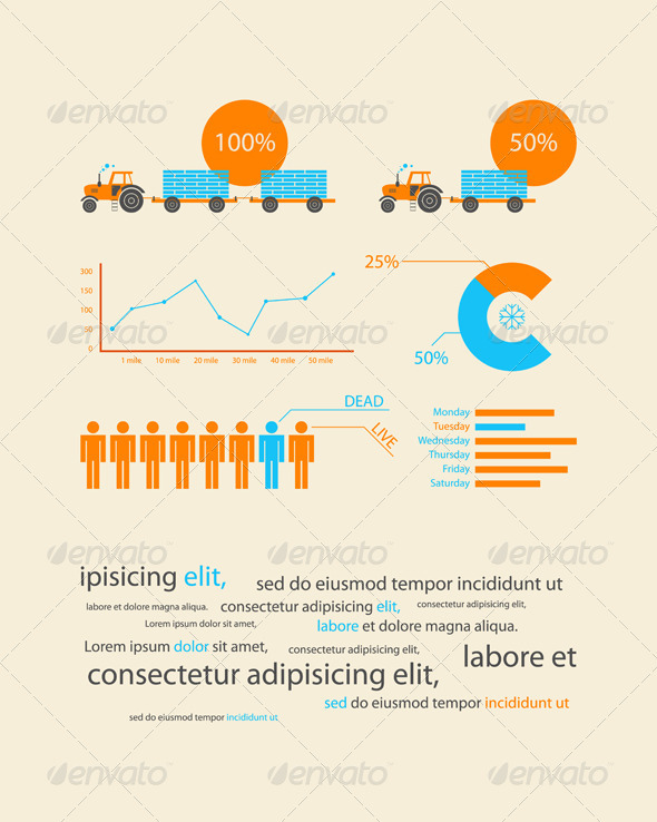 GraphicRiver Infographics as a business record development 621837