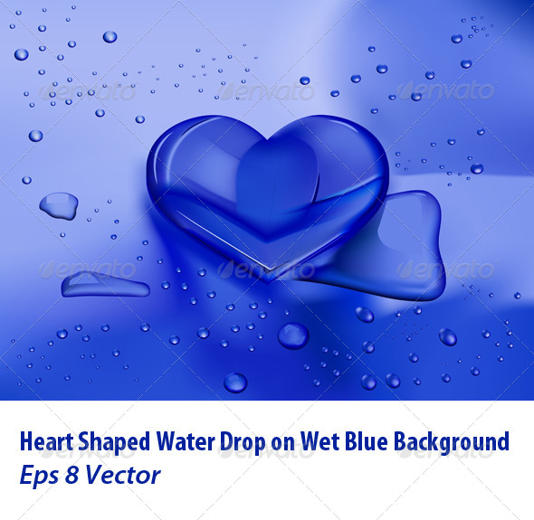 GraphicRiver Heart Droplet 5957921