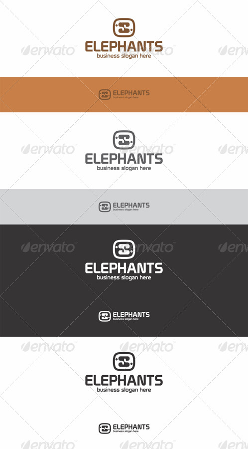 Elephants Logo - Creative Studio