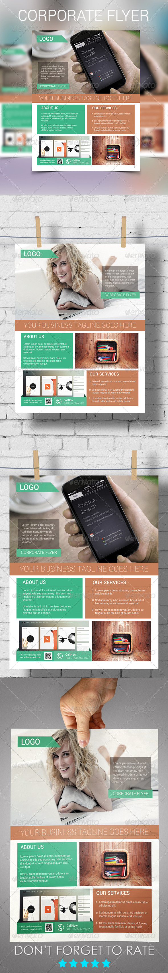 GraphicRiver Corporate Flyer 5958328