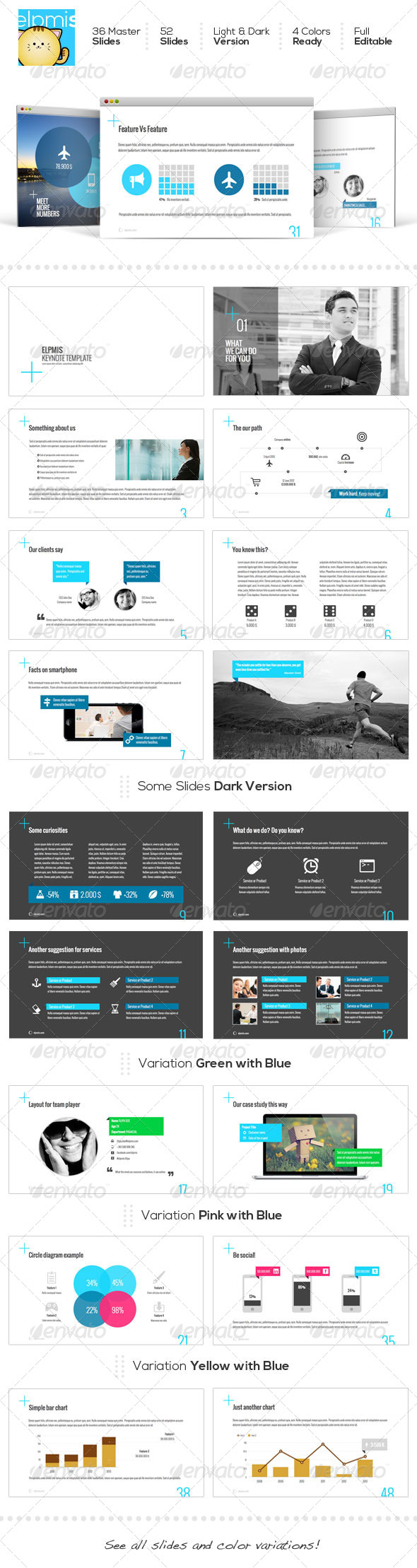 GraphicRiver ELPMIS Keynote Template 5958694