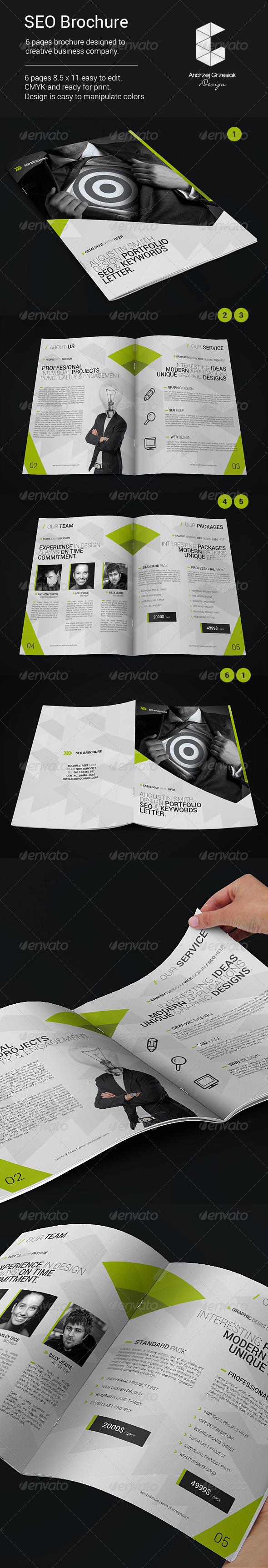 GraphicRiver SEO Brochure 5958699