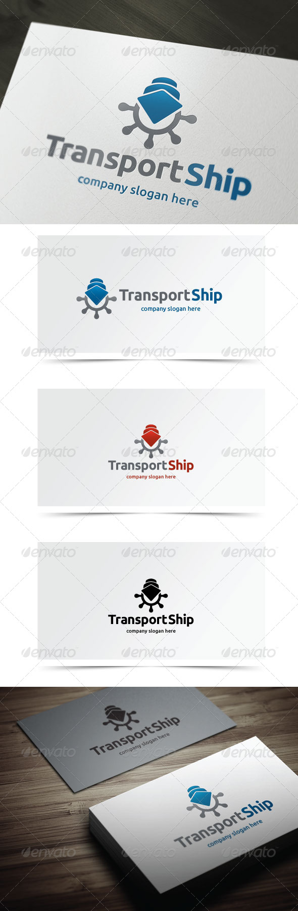 GraphicRiver Transport Ship 5958904