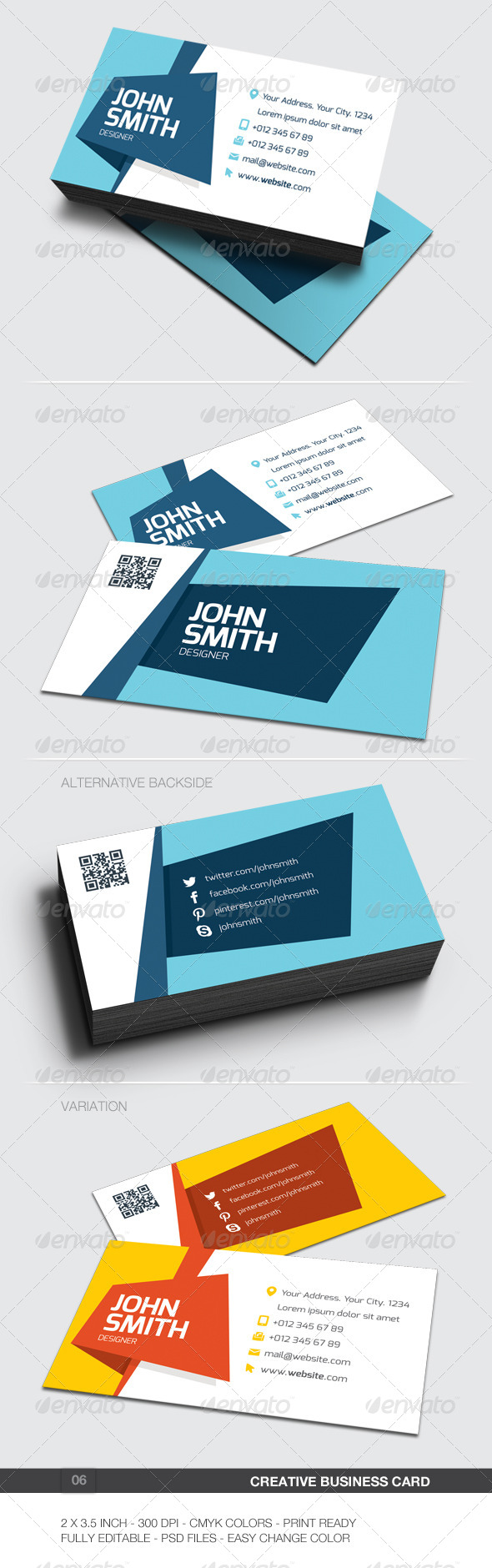 GraphicRiver Creative Business Card 06 5959442