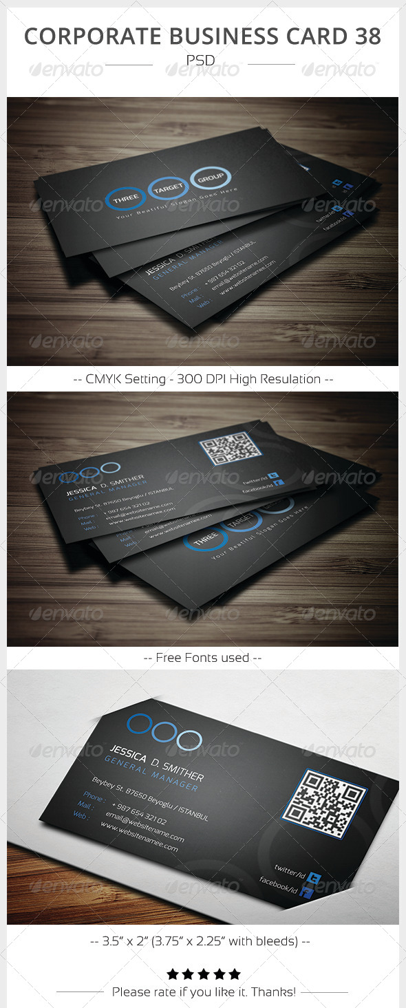 Corporate Business Card 38