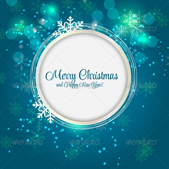 GraphicRiver Abstract Christmas and New Year Background 5959801