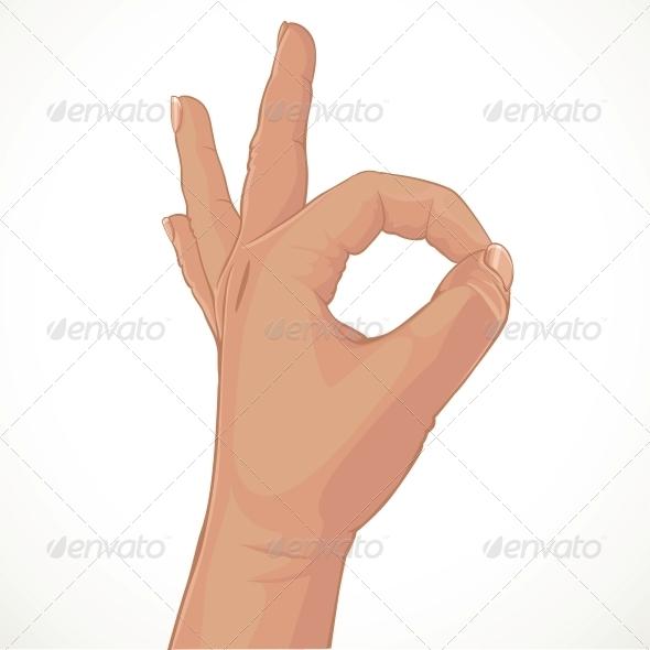 Zero from Fingers