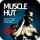 Muscle Hut Bodybuilding/Fitness Flyer Template  - GraphicRiver Item for Sale