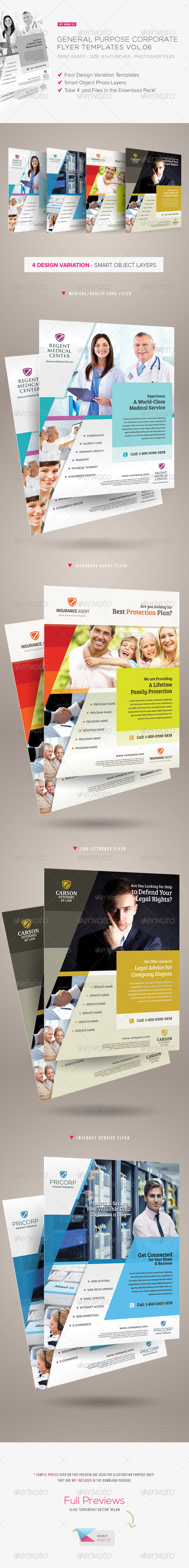 General Purpose Corporate Flyer Vol.06 - Corporate Flyers