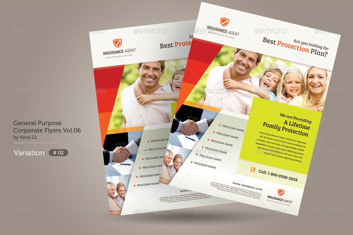 General Purpose Corporate Flyer Vol.06 by kinzi21 | GraphicRiver