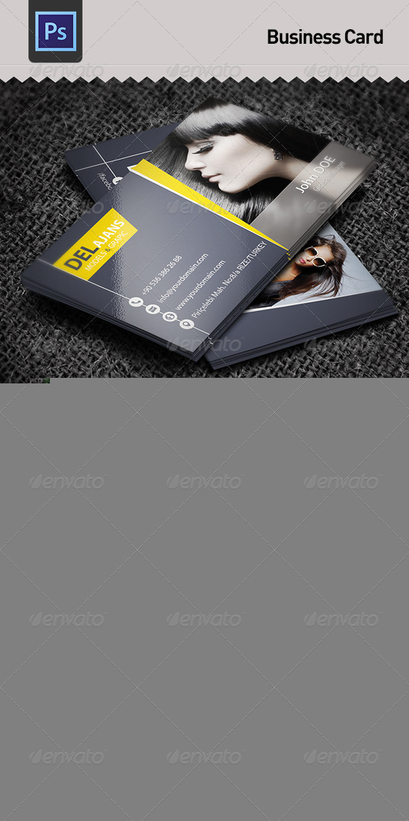 GraphicRiver Business Card 5945580