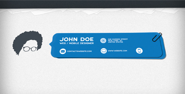 After Effects Project - VideoHive Minimalist Resume 622615