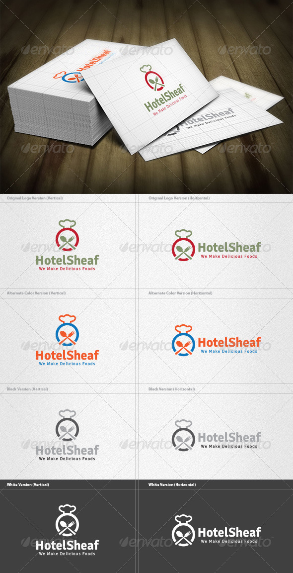 GraphicRiver Hotel Sheaf Logo 5960470