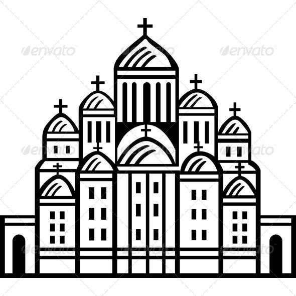 GraphicRiver Old Church 5960576