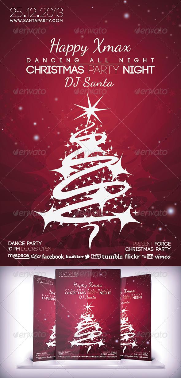 Christmas Night Flyer