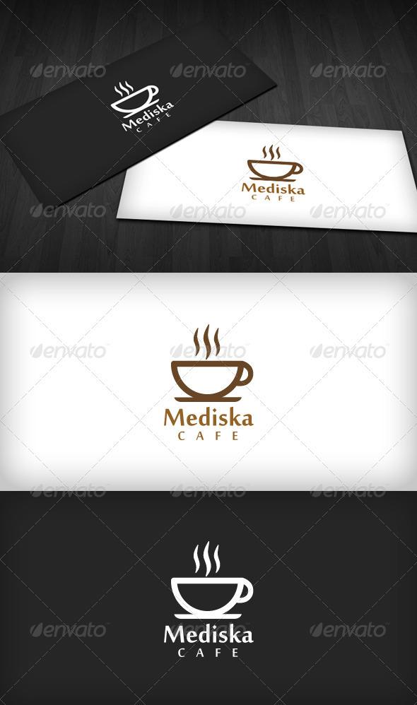 GraphicRiver Mediska Cafe Logo 622806