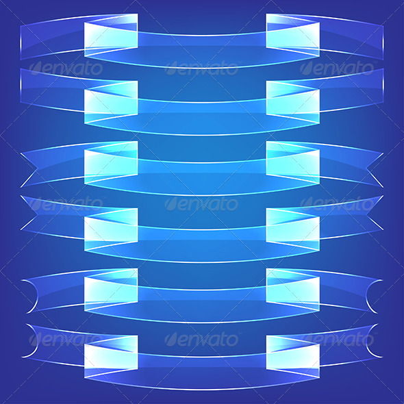 GraphicRiver Glass Ribbons 5961897