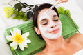 Beautiful Woman With Facial Mask At Spa - PhotoDune Item for Sale