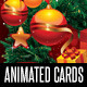 6 Christmas Powerpoint Animated Cards