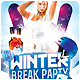 Winter Break Party Flyer Template - GraphicRiver Item for Sale