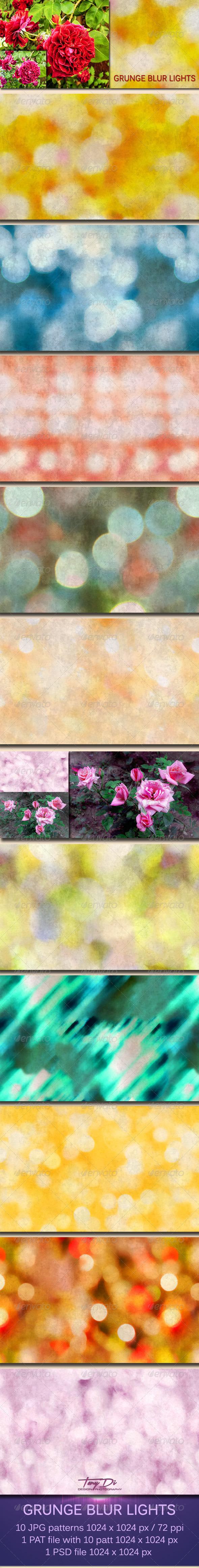 GraphicRiver Grunge Blur Lights 5962736