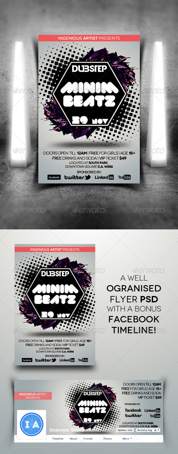 GraphicRiver Minimal Flyer Vol.3 5962778