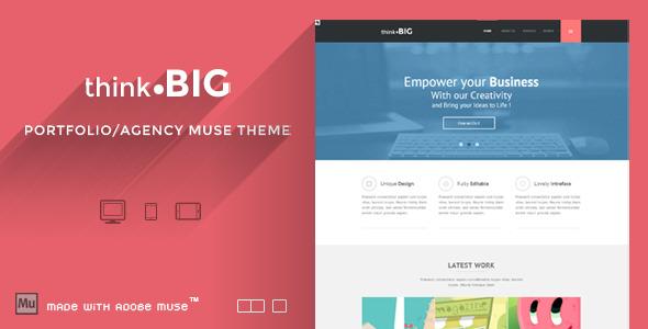 Think Big - Creative Muse Theme